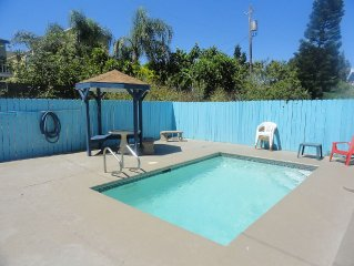 Your Own Private Pool And Grilling Area!