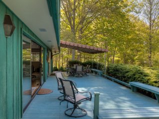 Cloud 9 Relaxation Home, Hot Tub,  Mountain Views, Easy Asheville!