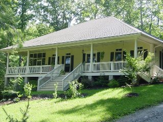 Spacious 2 BR On 21 Acre Farm Convenient To Asheville