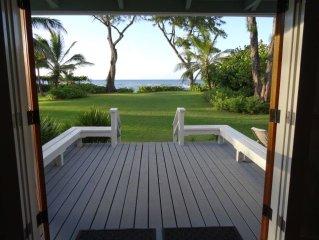 Classic Hawaiian Beachfront Home-Mokuleia