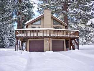 Family Vacation Home close to Donner Lake and Northstar Ski