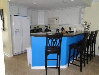 Terraces 1-Beautiful End Unit Town Home with Garage Near Beach