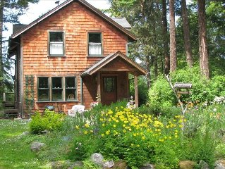Lopez Island Home Filled with Old World Charm. Great for Families.