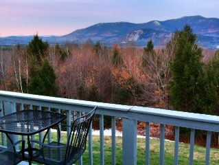 Sunny Condo W/Expansive Valley View, Pool, Tennis, Deck, Mtns