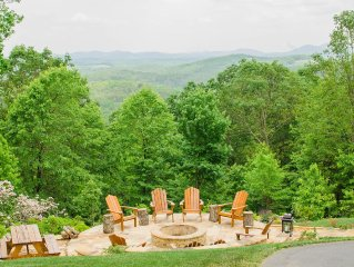 Ga Wine Hwy, Waterfalls, Appalachian Trail, Mountain Views-escape And Relax