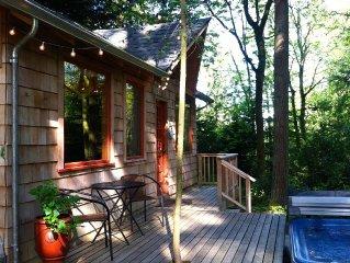 Cabin in the Woods w/Hot tub - 'Cabin Fever' Bainbridge Island