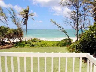 Ocean Front Estate Home On Tranquil Beach. Large, Private Lot. Tons Of Extras.