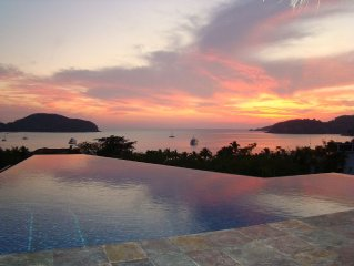 Luxury Private Home Overlooking Zihuatanejo Bay, 5 Min. Walk to Beach