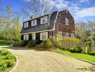 Excellent location between East Hampton and Amagansett