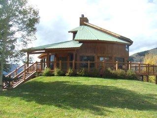AWESOME mountain home. Wood Fireplace, Hot Tub, VIEWS, VIEWS, VIEWS