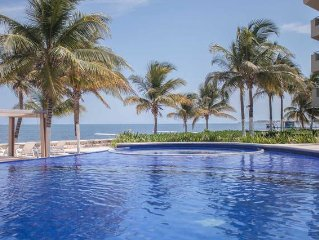 Beachfront 3 Bedroom Luxury Condo /Cancun /Riviera Maya