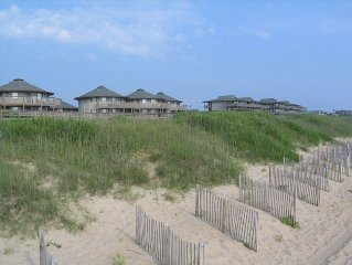 Beautiful two or three Bedroom Beach Front Outer Banks Beach Club Resorts