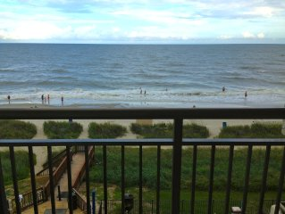 Magnificent Views at your Ocean Front Condo!!! PERFECT balcony views!