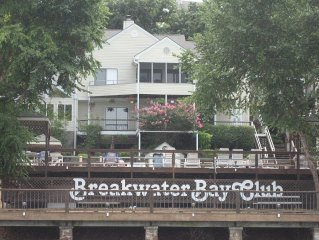 Lakefront Breakwater Bay 2br/2ba Rent 6 nights get one free!  MAIN CHANNEL!