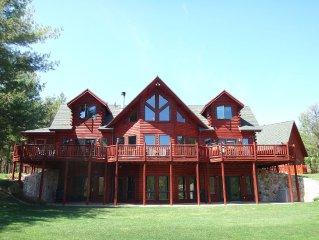 Grand Luxury Lodge, Stunning Views, Near Whiteface & Lake Placid