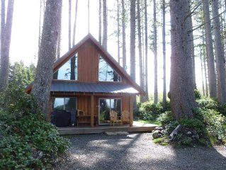 Oceanfront Woodland Retreat - perfect for family vacation or a romantic getaway!