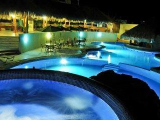 Villas Cerritos Surf & Swim Beach, 2 Bed/2 Bath-Villa. Near Todos Santos.