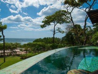 Beach Front, Luxury Private Villa on Beautiful Playa Langosta Beach / Tamarindo