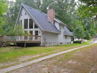 Home On White Lake With Private Frontage Sleeps 10 Modern Kitchen Lake Mi Close