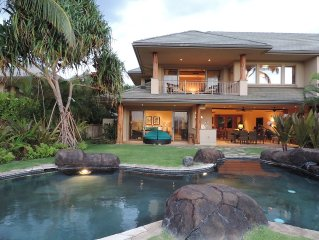 Luxurious, Spacious Ocean View Villa with Private Pool/Jacuzzi/Beach Club