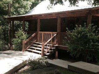 Moose Tracks Lodge on Johnson Lake- Gated Community-Cabin has Hottub