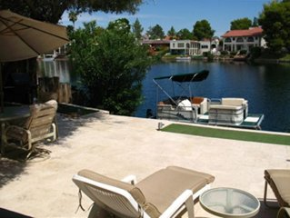 Beautiful Tempe Waterfront Villa with Many Extras