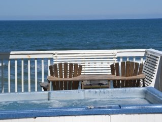 See what's New at this Perfect Oceanfront Getaway, Just Steps to the Beach!