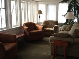 Harbor Springs upstairs Main st. apt. June,July August & Sept. availability