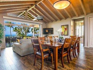 Beachfront Private Villa  - 8 BR Luxury - 3,850 Sq. Ft. - Newly Built, Perfect.