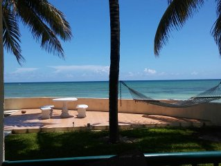 Gorgeous Ground Floor 3 BR Oceanfront Condo.  Amazing Views and Sunsets!