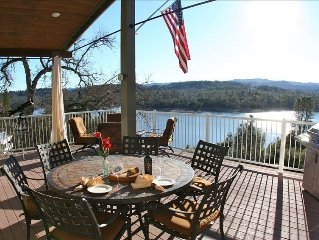 Spectacular Lake Nacimiento Waterfront Home with Private Dock.