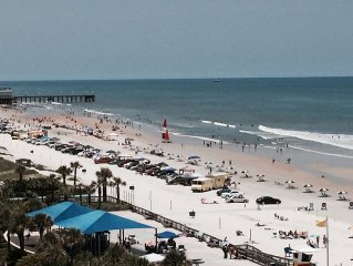 Spectacular Beach/Ocean View without direct sun most of the day!