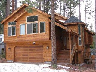4 Bedroom Luxury Cabin - 1.5 miles to Heavenly