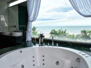 The Beach Palace 2BR Luxury Beachfront Condo Chaam