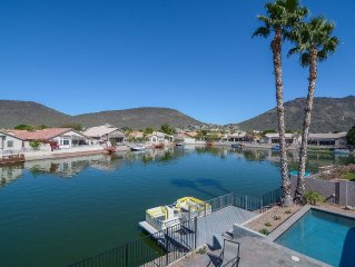 Luxury Collection Lakeside Retreat with Heated Pool, Boat, Lake & Mountain Views