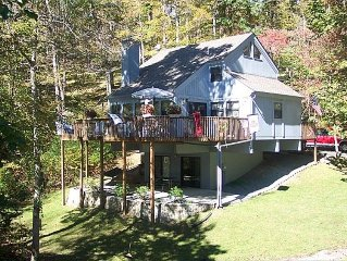 Beautiful Deerfield Lakefront Home in Cove with Dock - 4BR/4BA