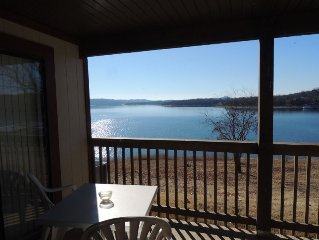Lazy Lakeside Retreat 1 #418  sleeps 8 Low Fall & winter Rates