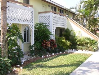 Stone's Throw from the Beach!  2BR/2BA Villa with Lake View
