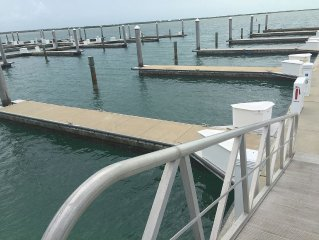 Dock located on Fisherman's Village Marina