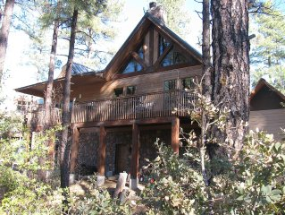 Back of house facing Prescott National Forest