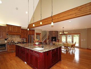 Executive Mountain Retreat with over 6,700 square feet of luxurious amenities