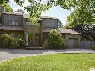 Hamptons Contemporary Zen Retreat with Pool