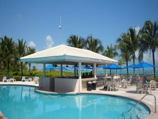 Luxury 3 Bedroom Two Bathroom Beachfront Condo Direct Access to the Sea of Abaco