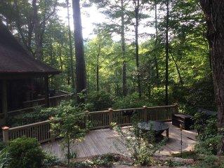 Mountain View/Resort Amenities/Decks/free wifi/grills/firepit/outdoor activities
