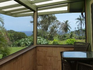 Great location between Hana Town and Hamoa Beach, private, family-friendly