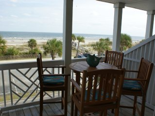Beach Front Condo on the Strand, South Beach, Tybee Island, GA