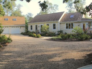 Charming, private Cape Cod home w/central AC