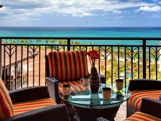Ko Olina 11th Floor Penthouse, 3BR. Panoramic Ocean View (2 Free Parking Stalls)