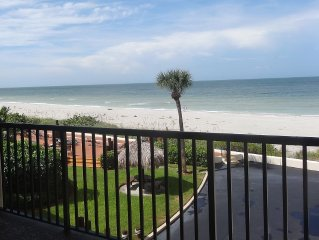 Renovated 2 Bedroom, 2 Bath Beachfront Condo On Belleair Beach