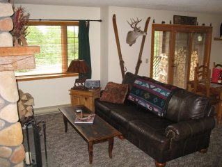 Lake Placid condo at the Whiteface Club on Lake Placid
